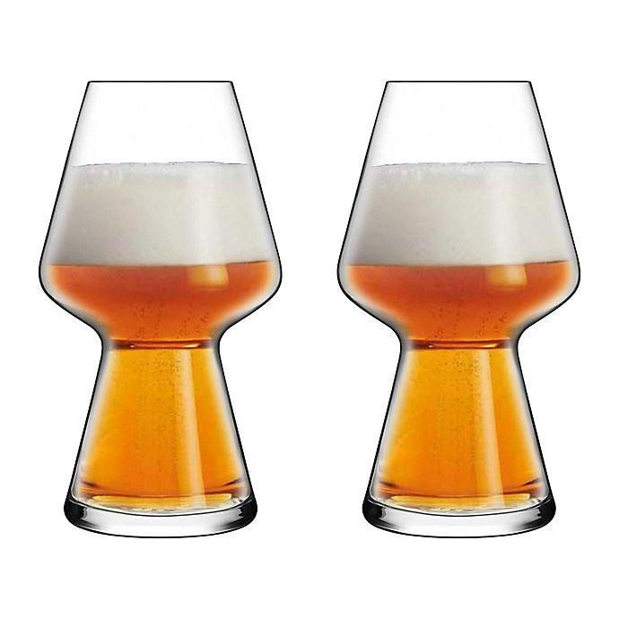 Alternate image 1 for Luigi Bormioli Birrateque Craft Seasonal Beer Glasses (Set of 2)