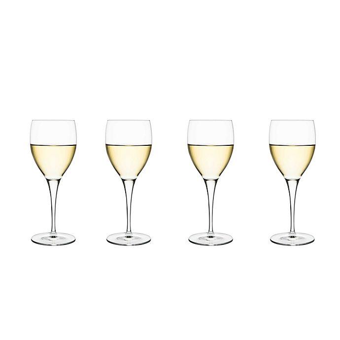 Alternate image 1 for Luigi Bormioli Michelangelo Masterpiece Gold Label Sparkx® White Wine Glasses (Set of 4)