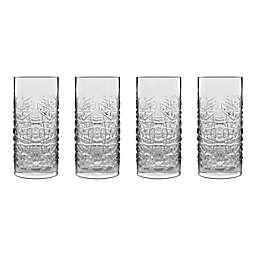 Luigi Bormioli SON.hyx® Mixology Textures Hi-Ball Glasses (Set of 4)
