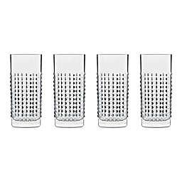 Luigi Bormioli SON.hyx® Mixology Elixer Hi-Ball Glasses (Set of 4)