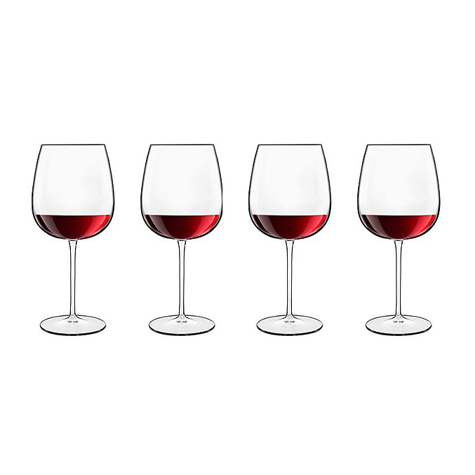 Alternate image 1 for Luigi Bormioli Talismano Burgundy Wine Glasses (Set of 4)