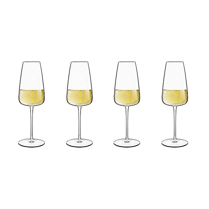 Alternate image 1 for Luigi Bormioli Talismano Prosecco Glasses (Set of 4)