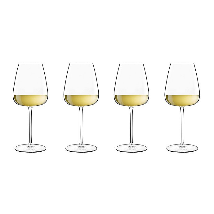 Alternate image 1 for Luigi Bormioli Talismano Chardonnay Wine Glasses (Set of 4)
