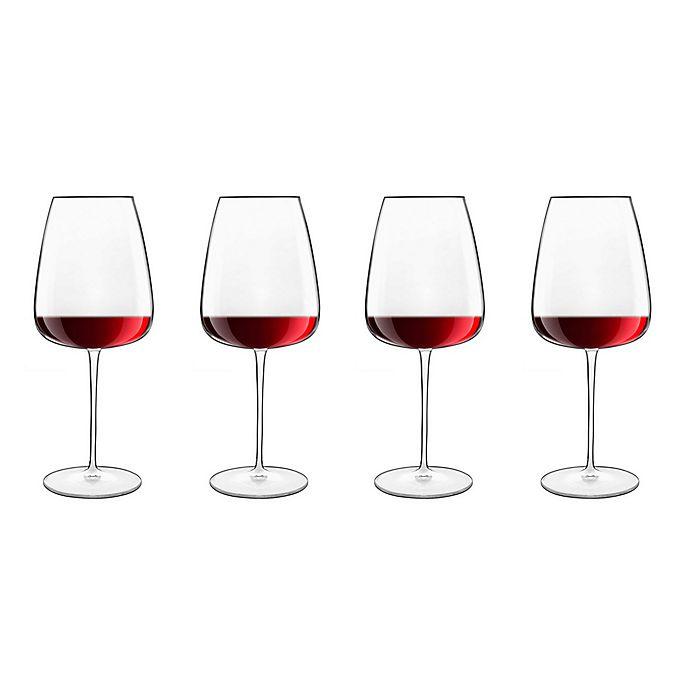 Alternate image 1 for Luigi Bormioli Talismano Bordeaux Wine Glasses (Set of 4)