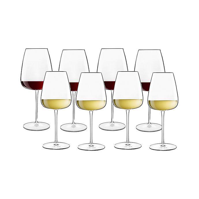 Alternate image 1 for Luigi Bormioli Talismano Red & White Wine Glasses (Set of 8)