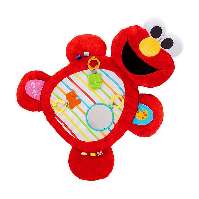 Alternate image 1 for Bright Starts™  Sesame Street Tummy-Time Elmo™ Prop Mat