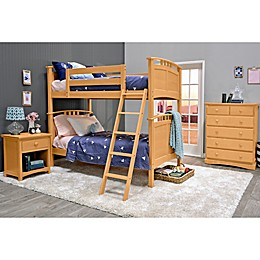 Epoch Astoria 3-Piece Twin over Twin Bunk Bed Set