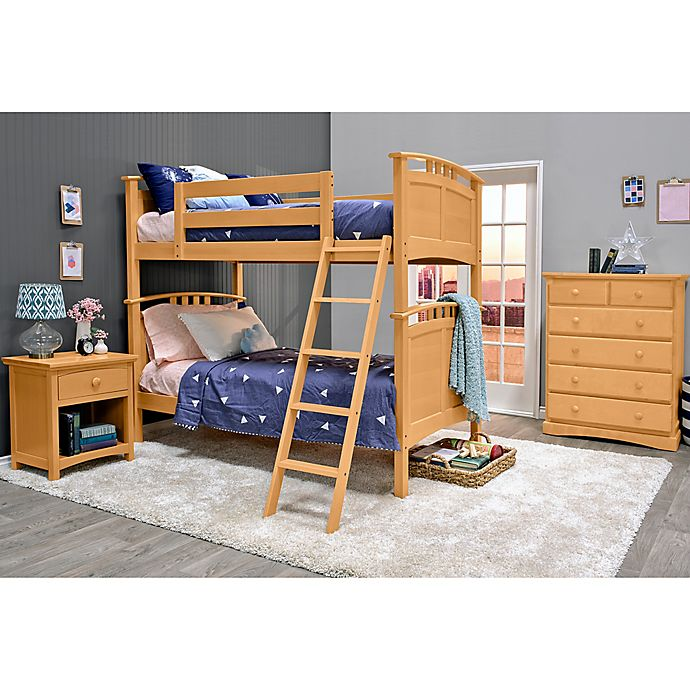 Alternate image 1 for Epoch Astoria 3-Piece Twin over Twin Bunk Bed Set