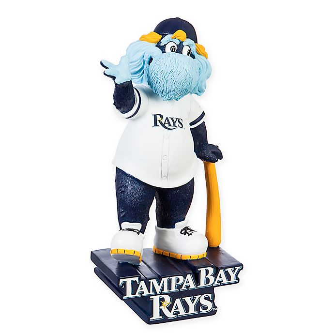 mlb tampa bay rays indoor outdoor mascot statue bed bath beyond bed bath beyond