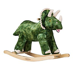 Rockin' Rider® Terry the Rocking Triceratops Ride-On in Green