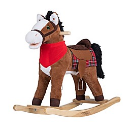 Rockin' Rider® Durango the Rocking Horse Ride-On in Brown