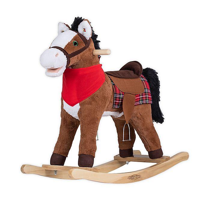 Alternate image 1 for Rockin' Rider® Durango the Rocking Horse Ride-On in Brown