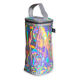 J.L. Childress Insulated Single Bottle Cooler in Black/Multi