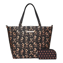 Petunia Pickle Bottom® Disney® Mickey Mouse Downtown Diaper Tote in Metallic