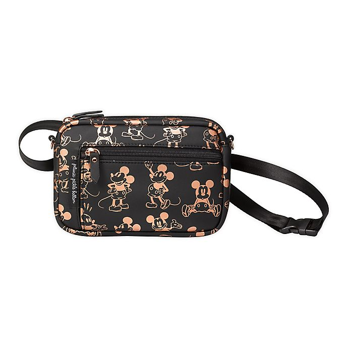 Alternate image 1 for Petunia Pickle Bottom® Disney® Mickey Mouse Diaper Belt Bag in Metallic