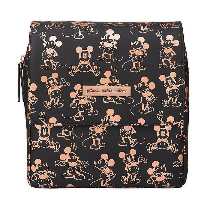 Alternate image 1 for Petunia Pickle Bottom® Metallic Mickey Mouse Mini Diaper Backpack