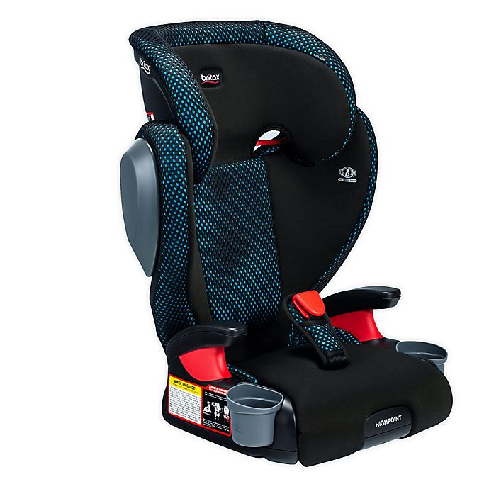 Alternate image 1 for Britax® Highpoint™ 2-Stage Belt-Positioning Cool Flow Booster Car Seat in Teal