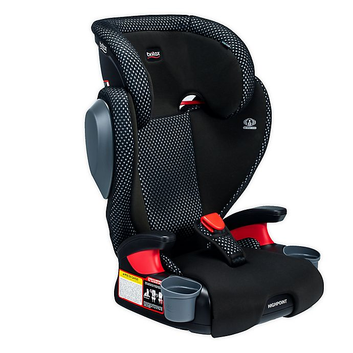 Alternate image 1 for Britax® Highpoint™ 2-Stage Belt-Positioning Cool Flow Booster Car Seat