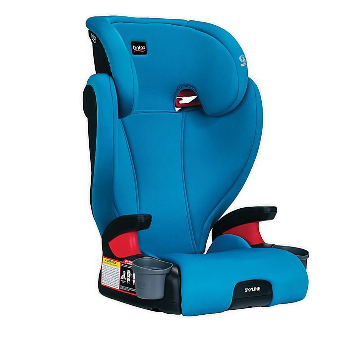 Alternate image 1 for Britax® Skyline™ 2-Stage Belt-Positioning Booster Car Seat in Teal