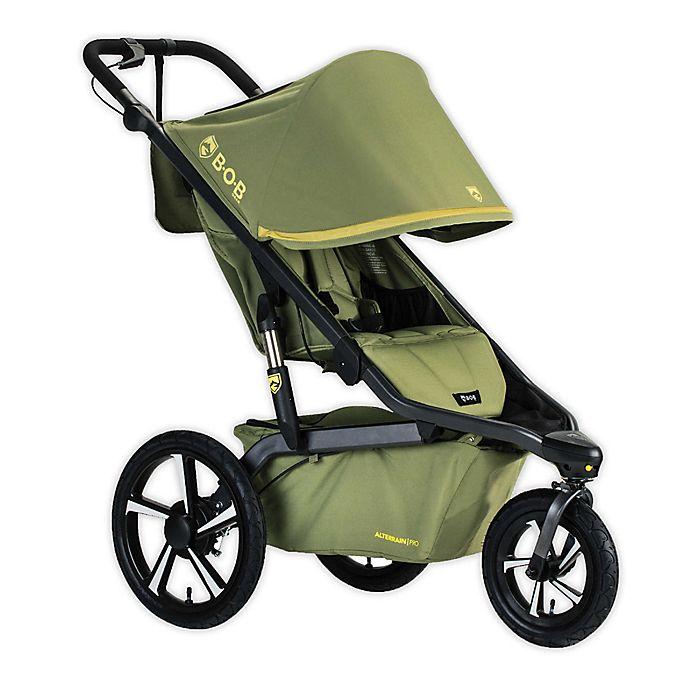 Alternate image 1 for BOB Gear® Alterrain™ Pro Jogging Stroller in Olive