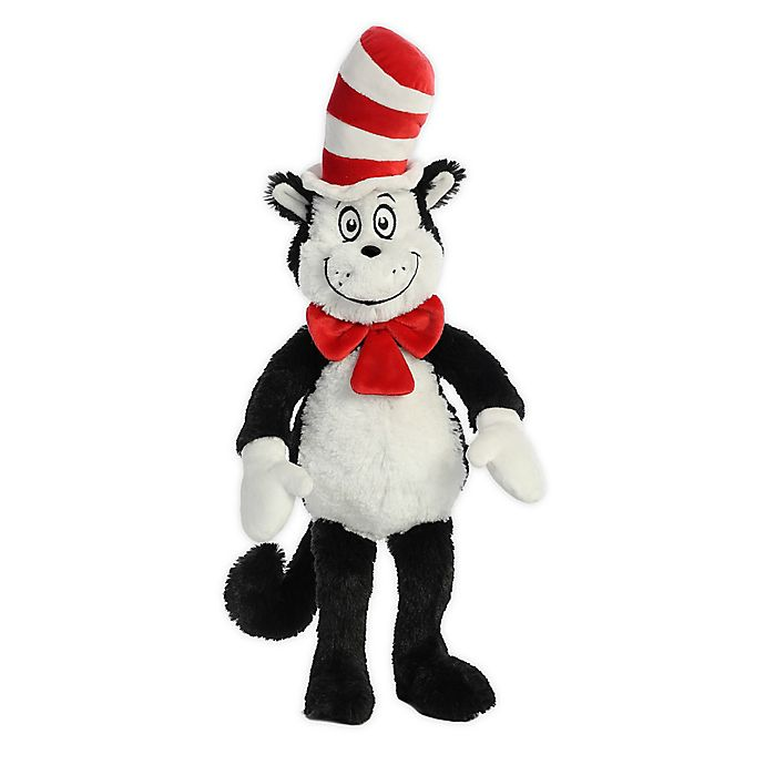 Alternate image 1 for Aurora World® Cat In the Hat Plush Toy