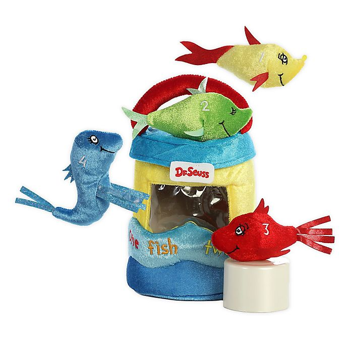 Alternate image 1 for Aurora World® Dr. Seuss Fish 5-Piece Plush Toy Set