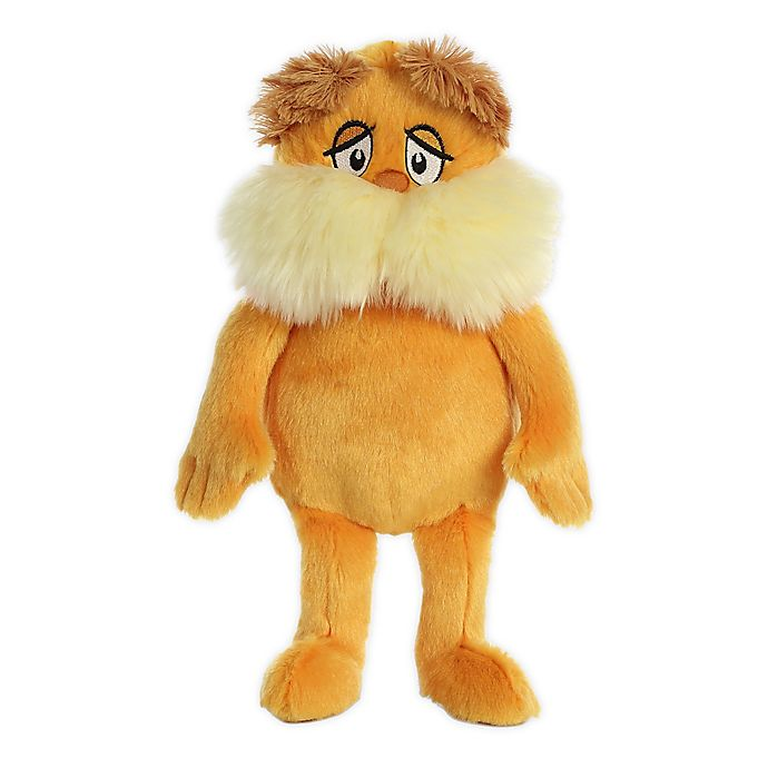 Alternate image 1 for Aurora World® The Lorax Plush Toy in Orange