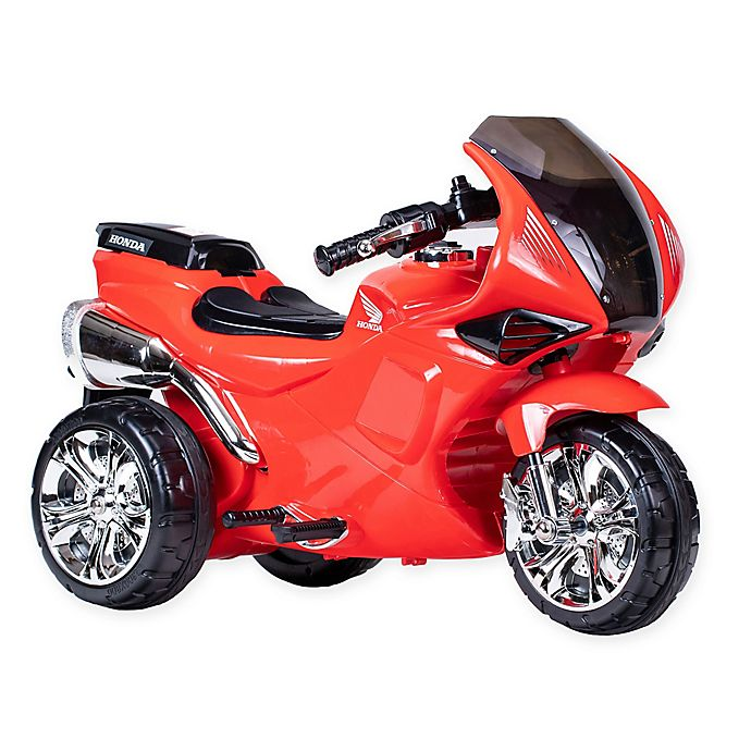 Alternate image 1 for Honda 6V CBR Ride-On Street Bike in Red