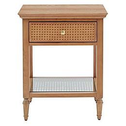 One Kings Lane Open House™ Jasmine Cane Side Table in Oak