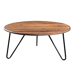 Serta® Bryant Round Coffee Table in Aged Pine