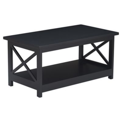 Marvelous Serta Bismarck Coffee Table In Black Machost Co Dining Chair Design Ideas Machostcouk