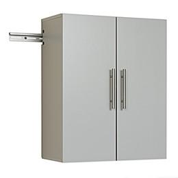 Prepac™ HangUps Upper Storage Cabinet in Light Grey