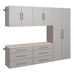 Prepac HangUps 90-Inch 5-Piece Storage Cabinet Set H