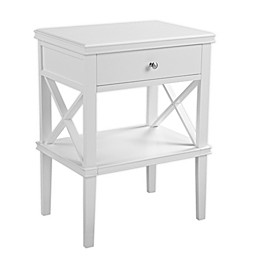 Southern Enterprises© Wexbury Tall Accent Table in White
