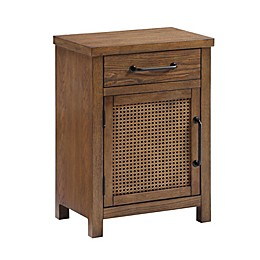 Bee & Willow™ Cane Storage Cabinet in Walnut