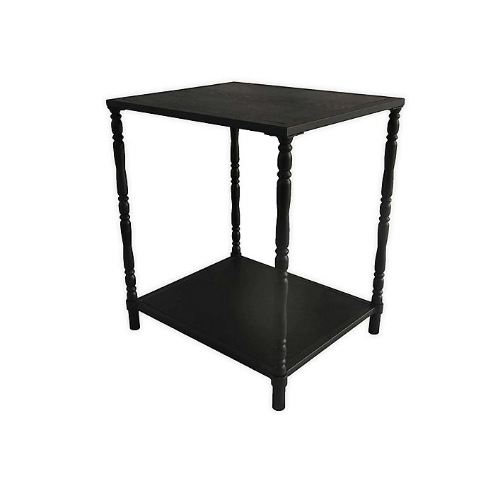 Alternate image 1 for Bee & Willow™ Home Metal Side Table in Black