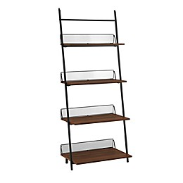 Forest Gate™ 64-Inch Leaning Bookcase
