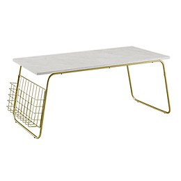 Forest Gate™ 40-Inch Coffee Table with Wire Rack
