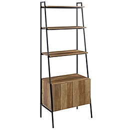 Forest Gate™ 72-Inch Modern Ladder Bookcase in Barnwood