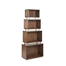 Madison Park Covina Bookcase in Meteora