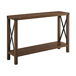 Forest Gate™ Englewood Console Table in Dark Walnut