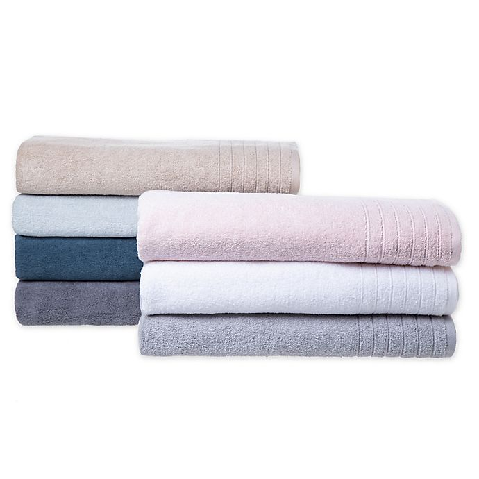 Alternate image 1 for Brookstone® Super Stretch Bath Towel Collection