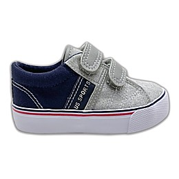 US SPORTS Casual Shoe in Grey/Navy