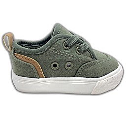 US SPORTS Casual Lace Shoe in Olive