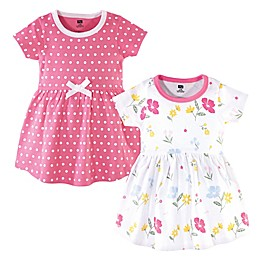 Hudson Baby® 2-Pack Spring Mix Dresses in Yellow