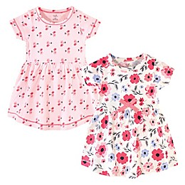 Touched by Nature 2-Pack Coral Garden Organic Cotton Dresses