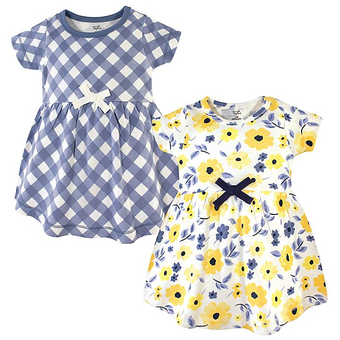 Alternate image 1 for Touched by Nature 2-Pack Garden Dresses in Yellow