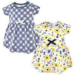 Touched by Nature 2-Pack Garden Dresses in Yellow