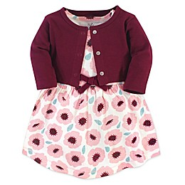 Touched by Nature® 2-Piece Blush Blossom Organic Cotton Dress and Cardigan Set