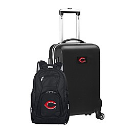 MLB 2-Piece Backpack and Carry On Luggage Set Collection